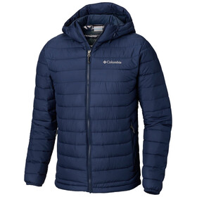 Columbia Powder Lite Capuchon Jas Heren, collegiate navy